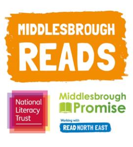 Middlesbrough Reads logo