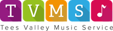 Tees Valley Music Service logo