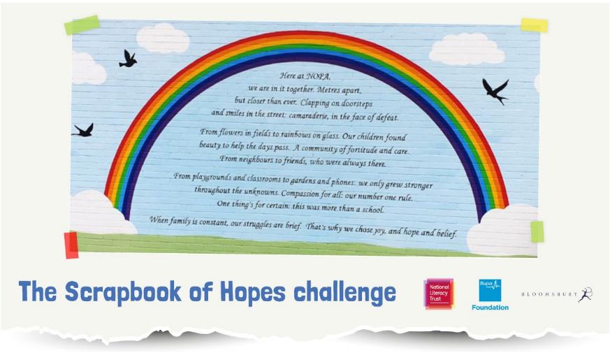 Scrapbook of hope banner image